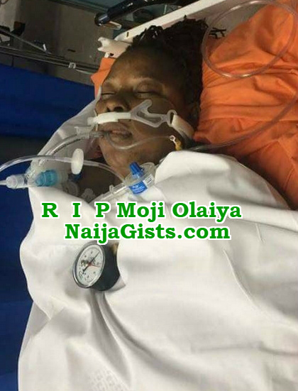 moji olaiya last photo alive