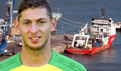 Body Found from wreckage of Sala's plane arrives in Britain