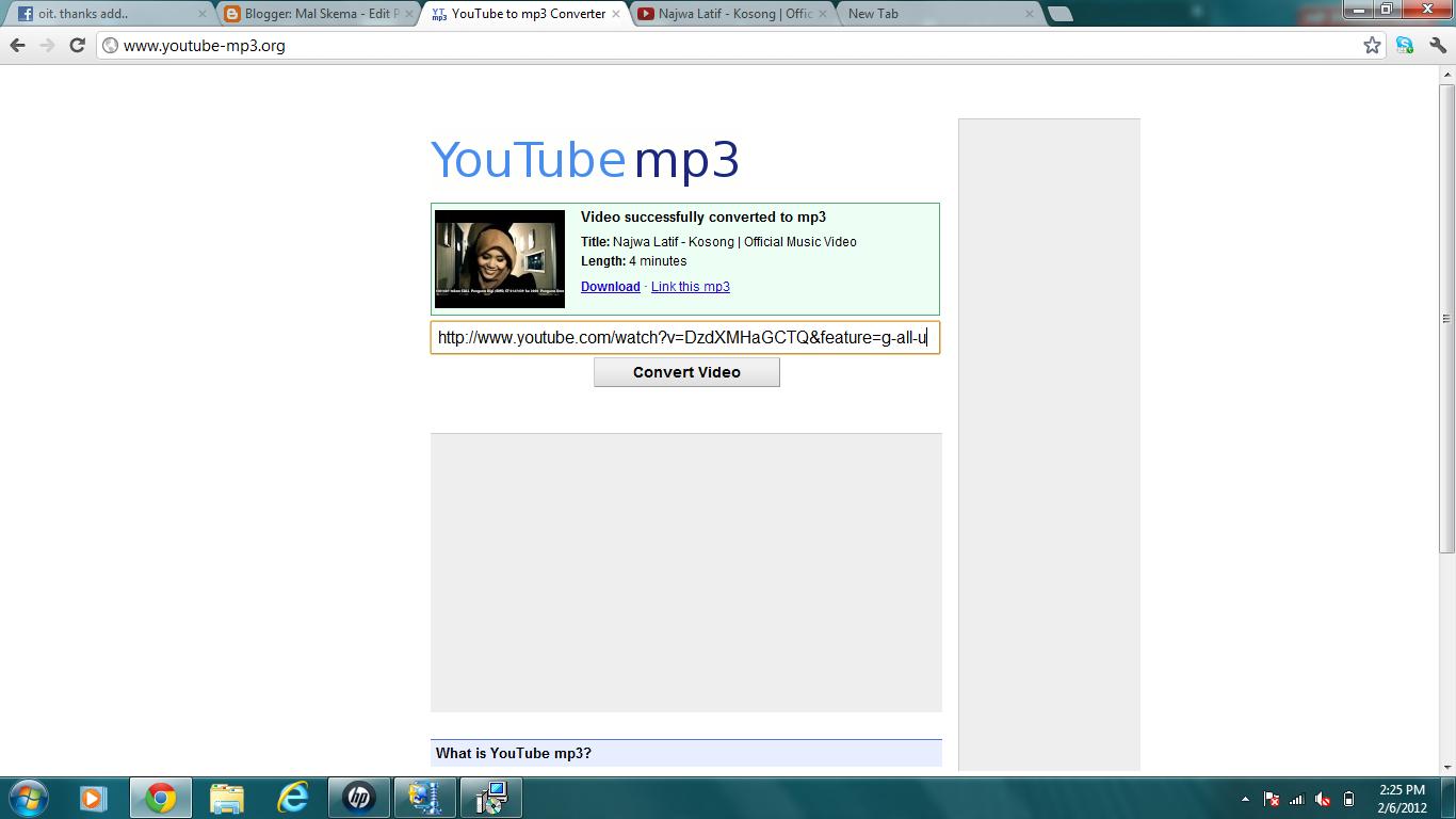 Mal Skema: Cara mudah convert video youtube ke format mp3 ... - photo#46