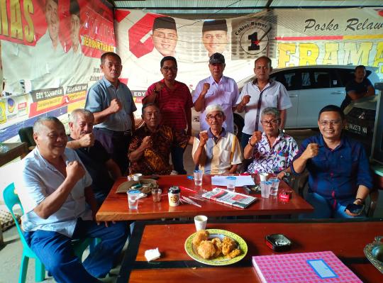 Dewan Pakar MPC Pemuda Pancasila Simalungun menggelar silaturahim ke kediaman El Kananda Shah