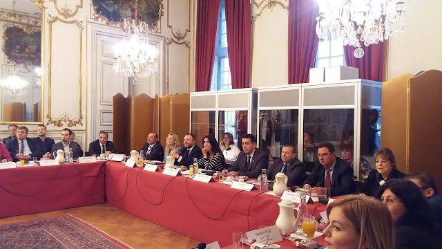 Ο Δήμαρχος Ναυπλιέων Δημήτρης Κωστούρος για 2η μέρα στη Γενική Συνέλευση του δικτύου Club De Strasbourg