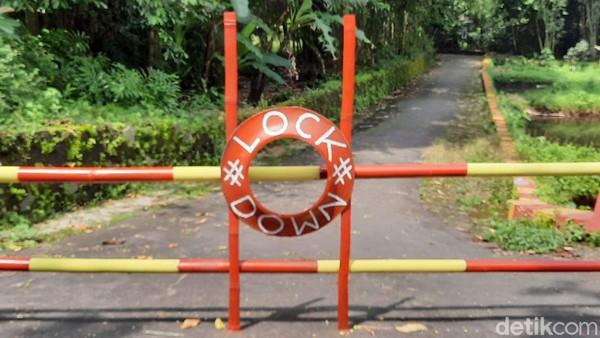 Tentang Kampung-kampung di Sleman Kompak 'Lockdown' Demi Tangkal Corona