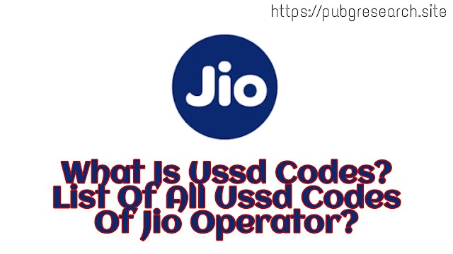 List of all jio ussd codes:PUK Codes,Stop call Fowarding code,Check Balance to all USSD codes.