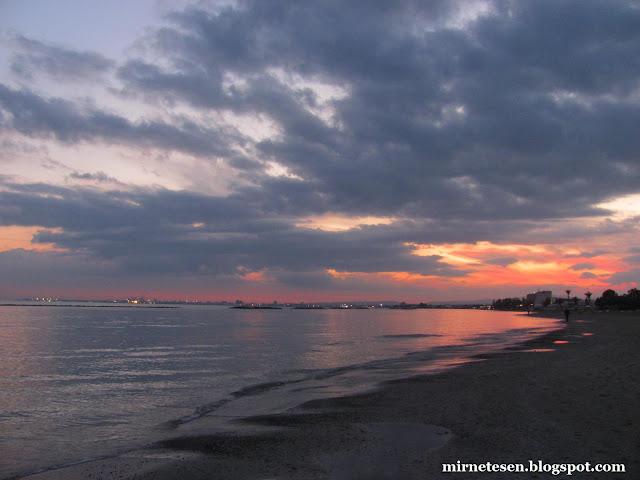Пила - пляж зимой