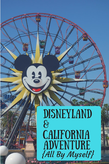 Disneyland and California Adventure Solo Trip