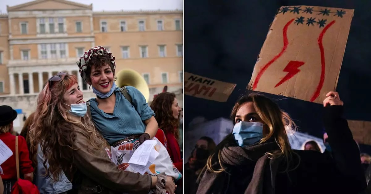 International Women's Day Around The World In 21 Pictures