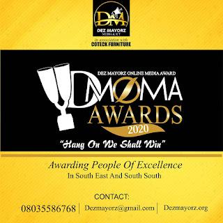 DMOMA Award  sets for 2020 award gala night, release nomination list