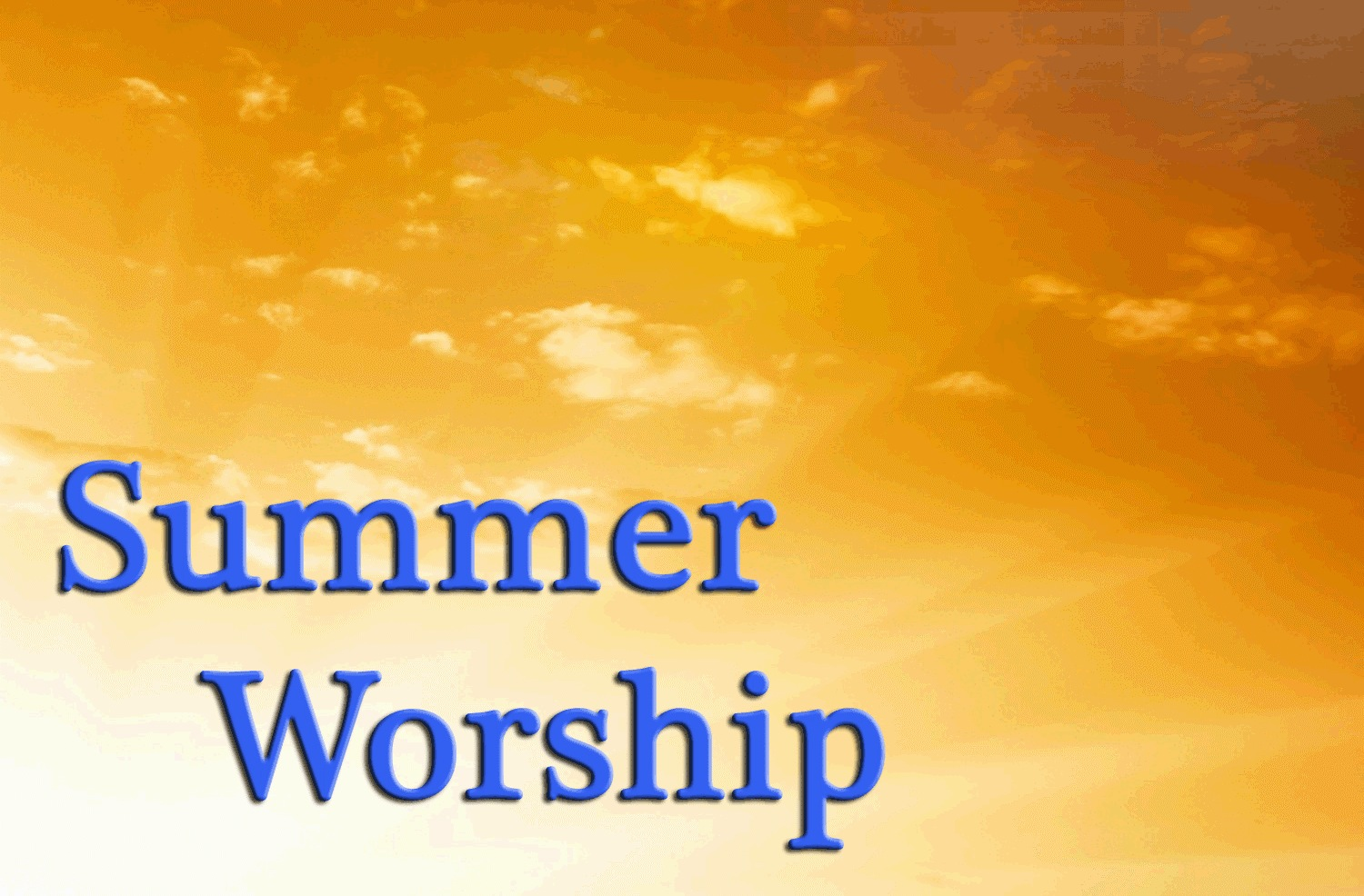 LadyDpiano: Summer Worship