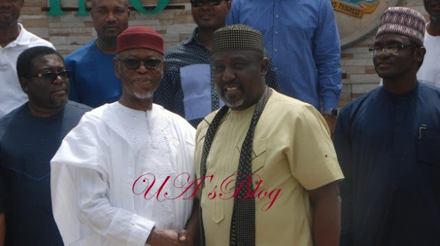'There's a united voice against your style' — Oyegun replies Okorocha