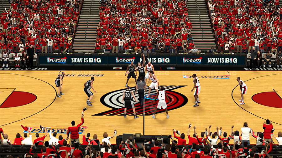 Spurs vs Blazers Conference Semifinals NBA 2K14