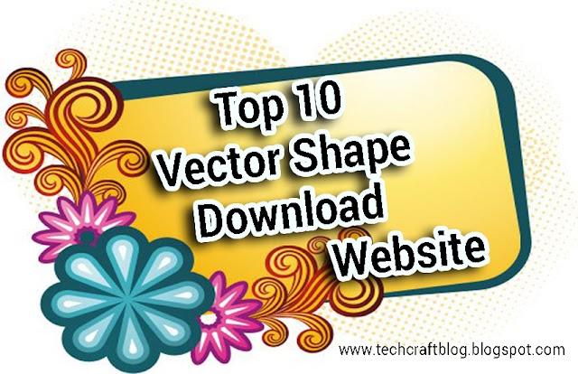 Top 10 vector shape downloading website