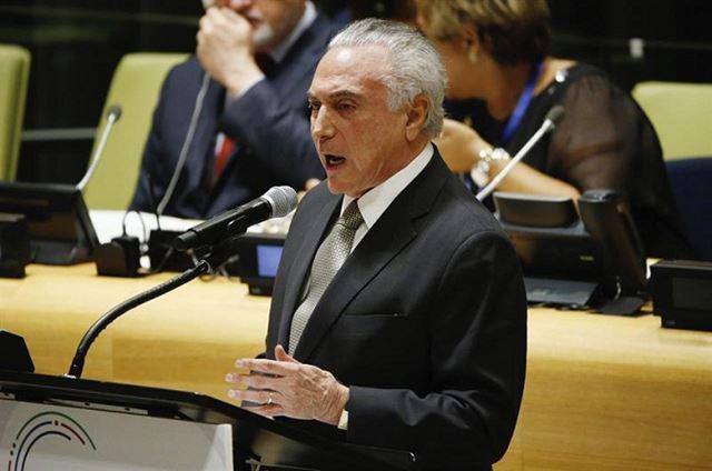 Em primeiro discurso na ONU como presidente, Temer infla número de refugiados recebidos pelo Brasil