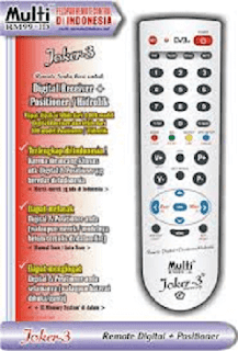 Set Kode Remote Digital Multy