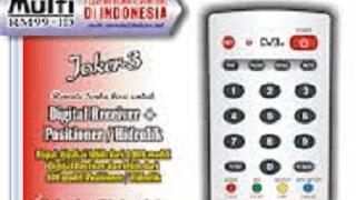 Set Kode Remote Digital Multy