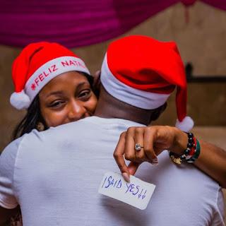 Khafi and Gedoni are Engaged