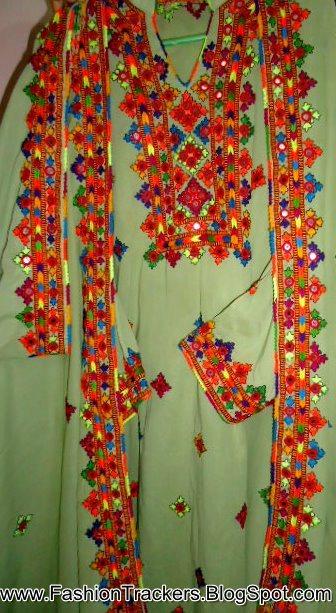 Sindhi Karhai Work Fashion Trackers