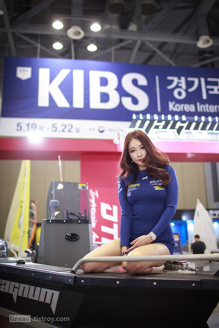 5 Oh Ah Hee 2016 Korea International Boat Show - very cute asian girl-girlcute4u.blogspot.com