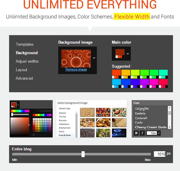 MagOne - Ultimate Blogger Magazine Template Advance Template Designer