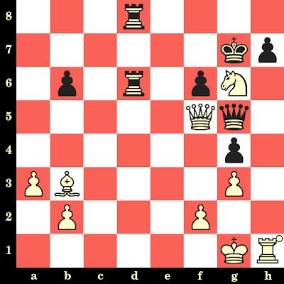 Les Blancs jouent et matent en 4 coups - Alexander Tolush vs Gosta Stoltz, Bucarest, 1953