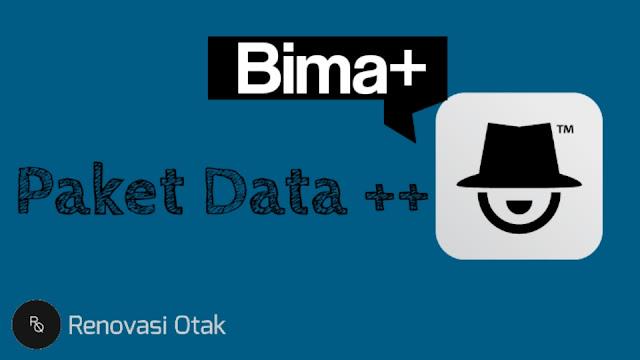 Paket Data Gratis dari bima+