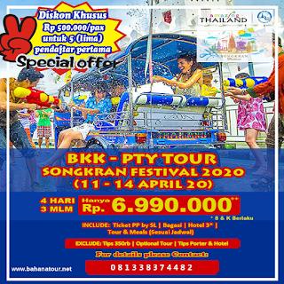 songkran festival tour 2020 bahana tour semarang