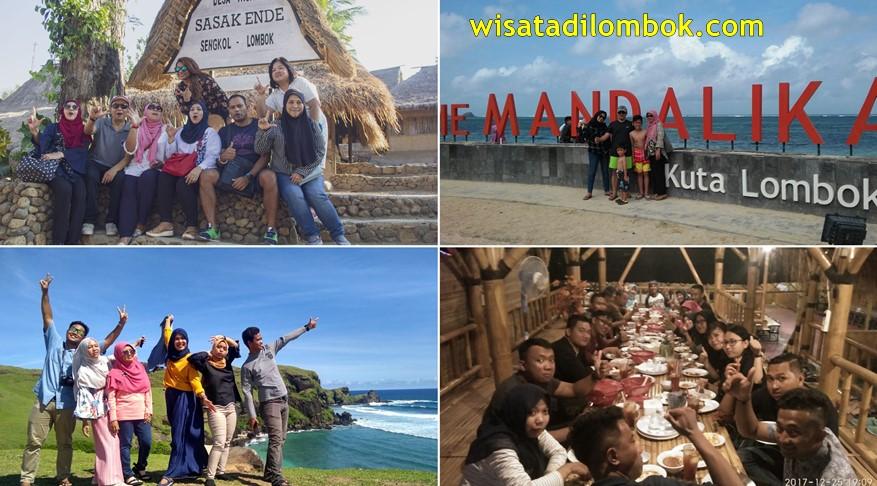 Kuta Tour Menunjungi Objek Wisata Di Lombok Tengah