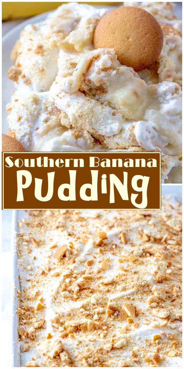 Southern Banana Pudding #dessertrecipes