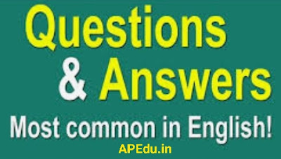 Spoken English Generally used Questions and Answers