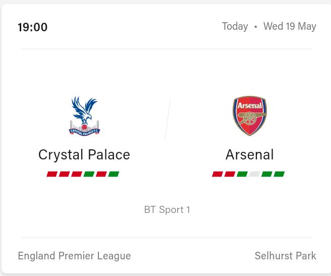 Crystal Palace vs Arsenal Preview and Prediction 2021