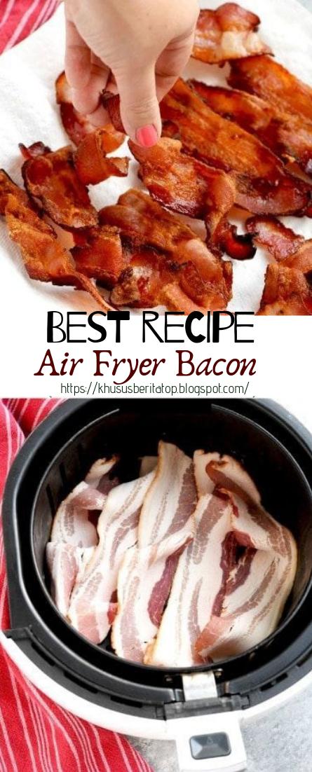 Air Fryer Bacon #dinnerrecipe #food #amazingrecipe #beef #recipe