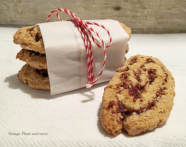 Vintage Paint and more - a deliciously decadent cookie made with a sweet date and nut filling