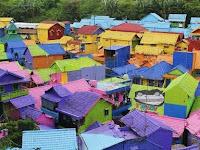 Kampung Warna Warni Di Malang Wajib Di Kunjungi