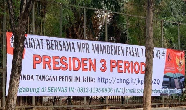 Jabatan Presiden Harus Dibatasi Dua Periode, Atau Kalau Mau Satu Periode Selama 7 Tahun