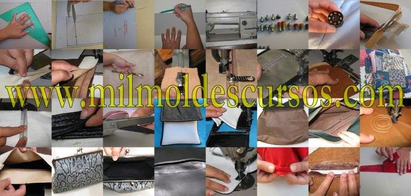 Cursos para hacer bolsos y carteras