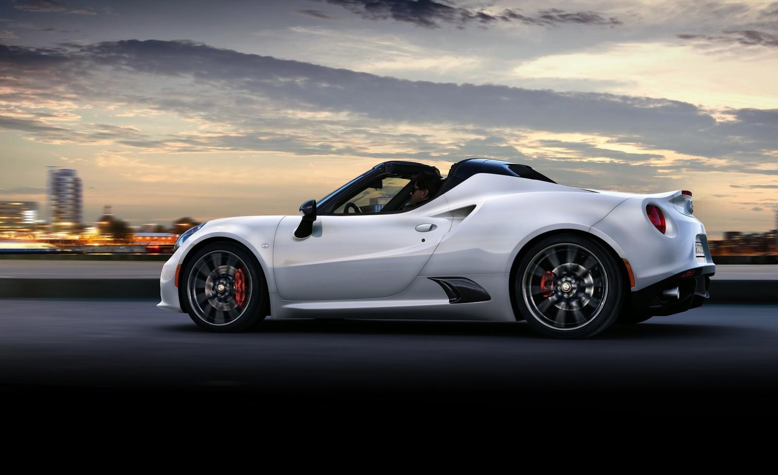 Alfa Romeo Opens Uk Order Book For 4c Spider Carscoops