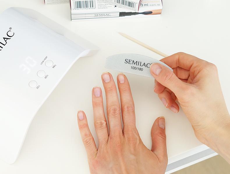 semilac lakier hybrydowy one step hybrid