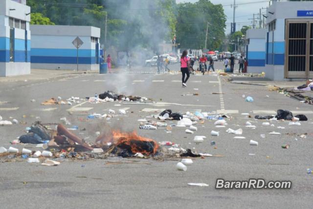 Se registran disturbios en la UASD