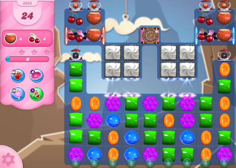 Candy Crush Saga level 3068