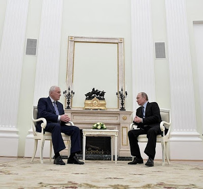 Vladimir Putin had a meeting with President of South Ossetia Leonid Tibilov