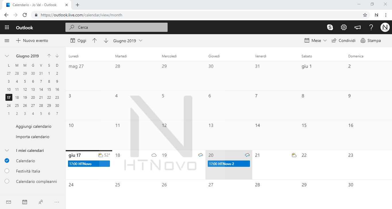 Eventi-calendario