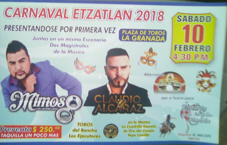Blog De Información De Etzatlán: Blog De Información De Etzatlán: Carnaval Etzatlán 2018