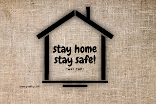 Take care stay home stay safe! wallpaper