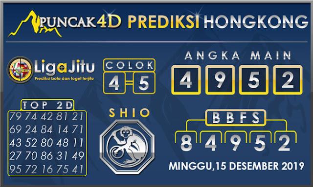 PREDIKSI TOGEL HONGKONG PUNCAK4D 15 DESEMBER 2019