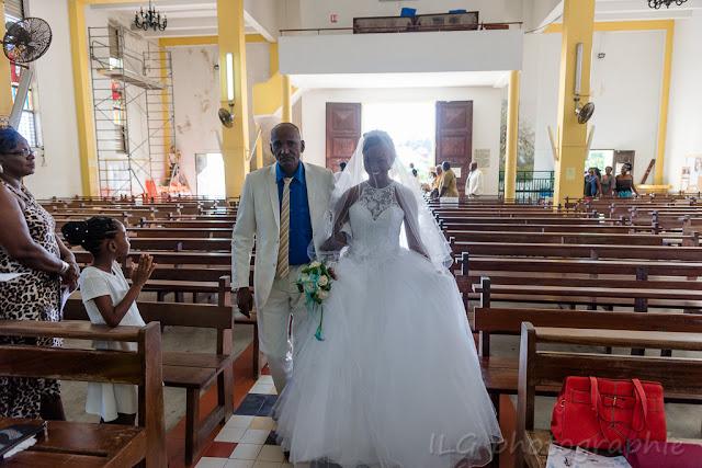 mariage église Petit-Bourg Caraibes