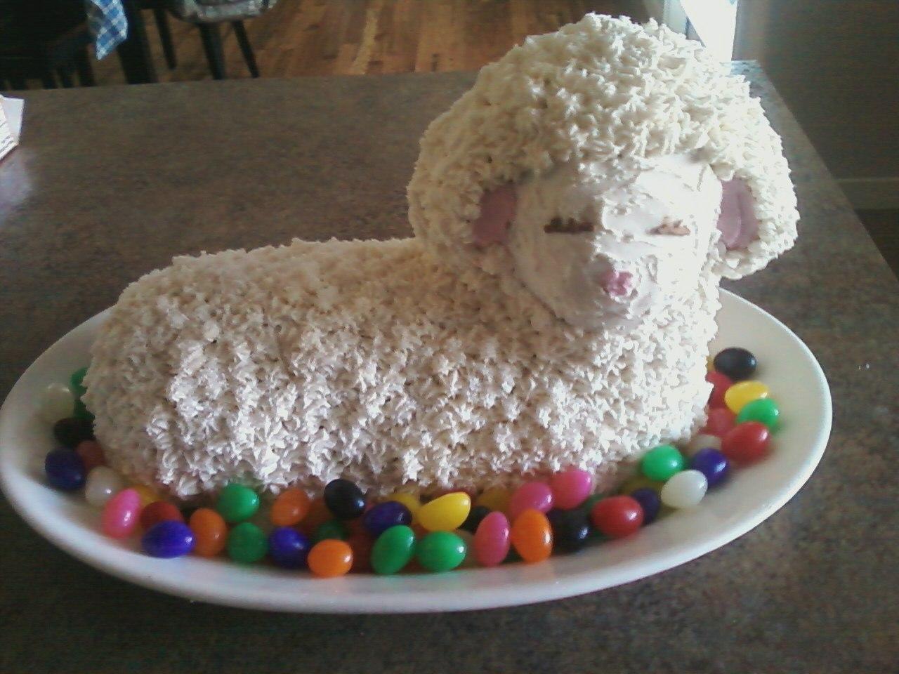 Vegan Cooking In Colorado Lamb Cake