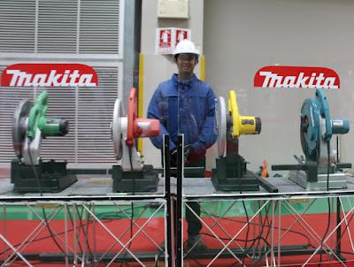 Buriram Thailand Makita Hitachi Maktec DeWALT metal chop saw