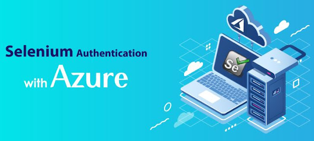 selenium authentication microsoft azure