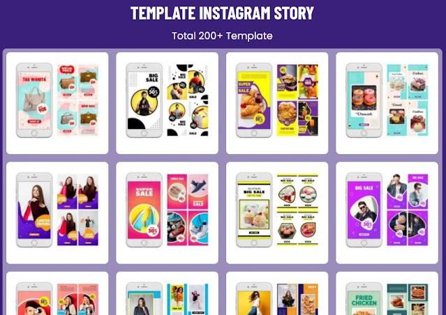 Download Kumpulan Template Feed Instagram Dtory Super Keren Premium Untuk Feed dan Insta Story kumpulan Template Feed Insta Story Instagram
