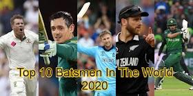 Top 10 Batsmen In The World 2020