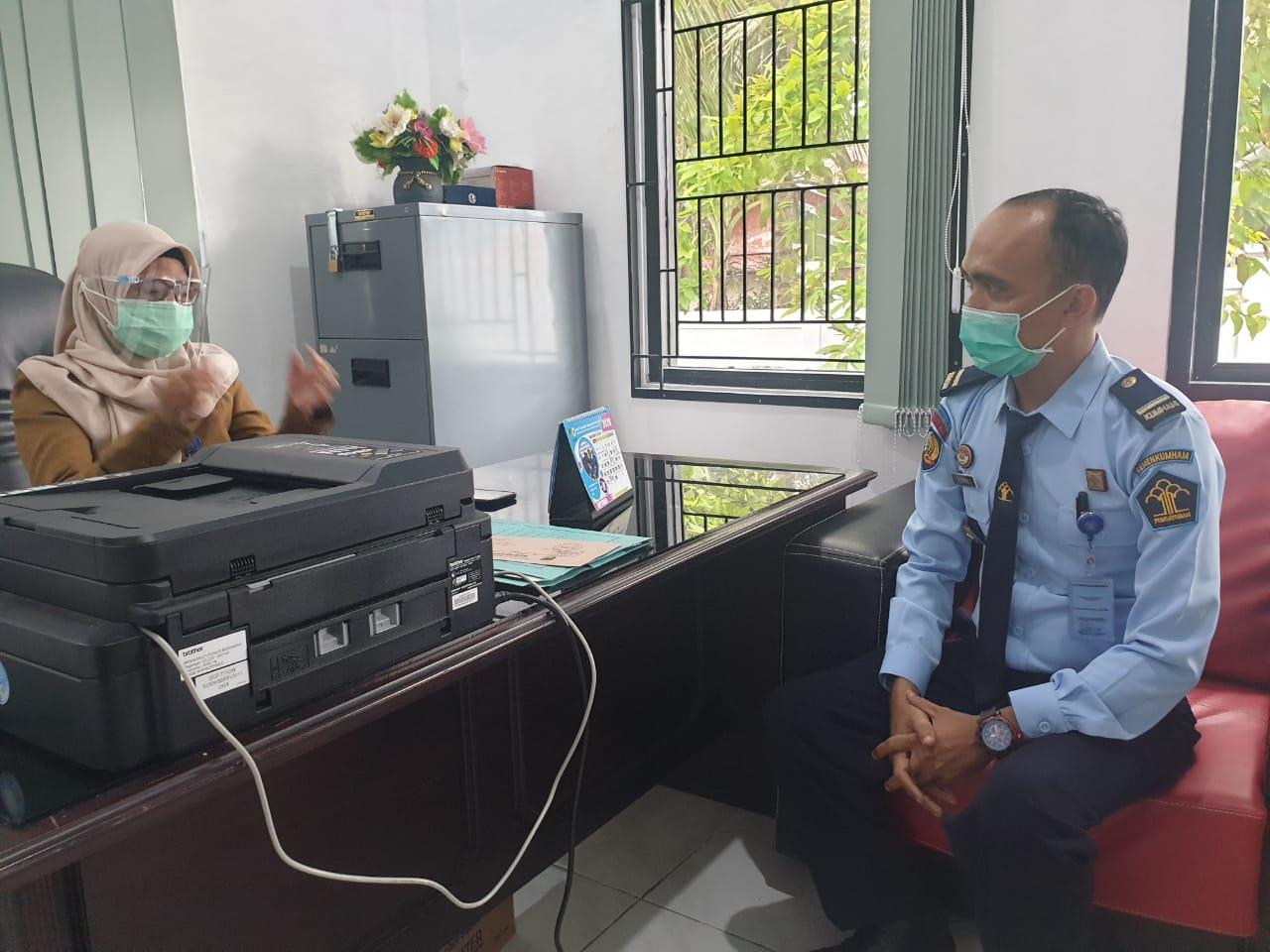 Koordinasi Bapas Muara Teweh dengan Dinas Kesehatan Kabupaten Barito Utara